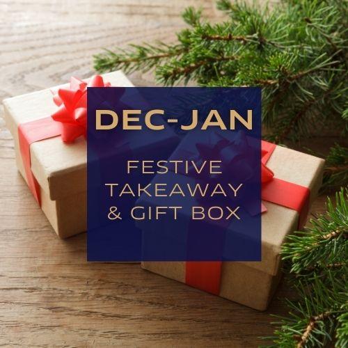 Festive Takeaway & Gift Box