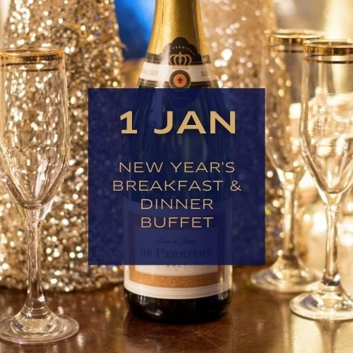 New Year's Breakfast & Dinner Buffet