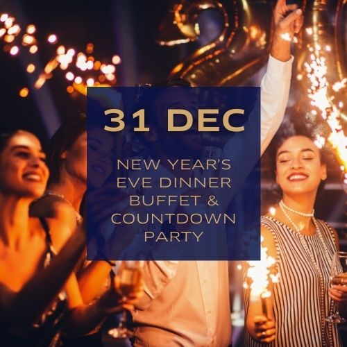 New Year's Eve Dinner Buffet & Countdown Party